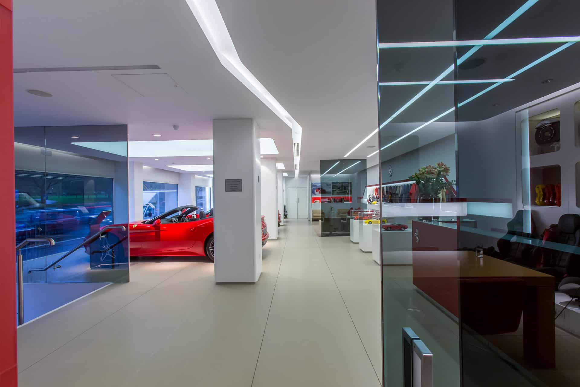 MNP Ferrari Showroom