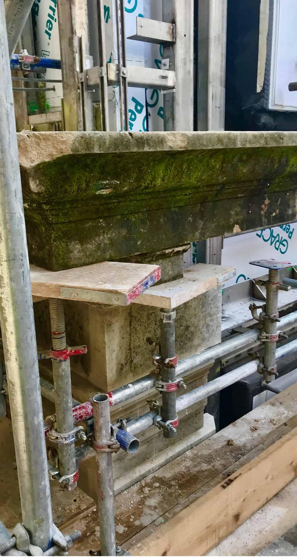 MNP 1-3 Grosvenor Square Old Cornice Stone