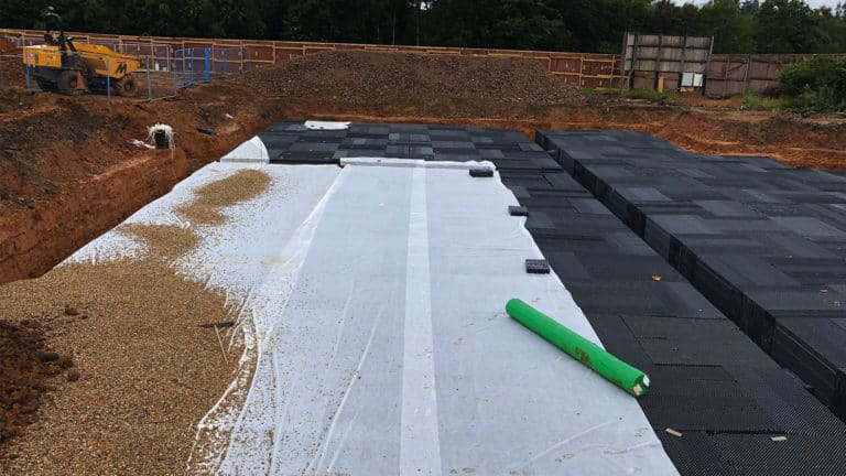 Mnp Civil Engineering Surface Water Attenuation Tanks Soak Away