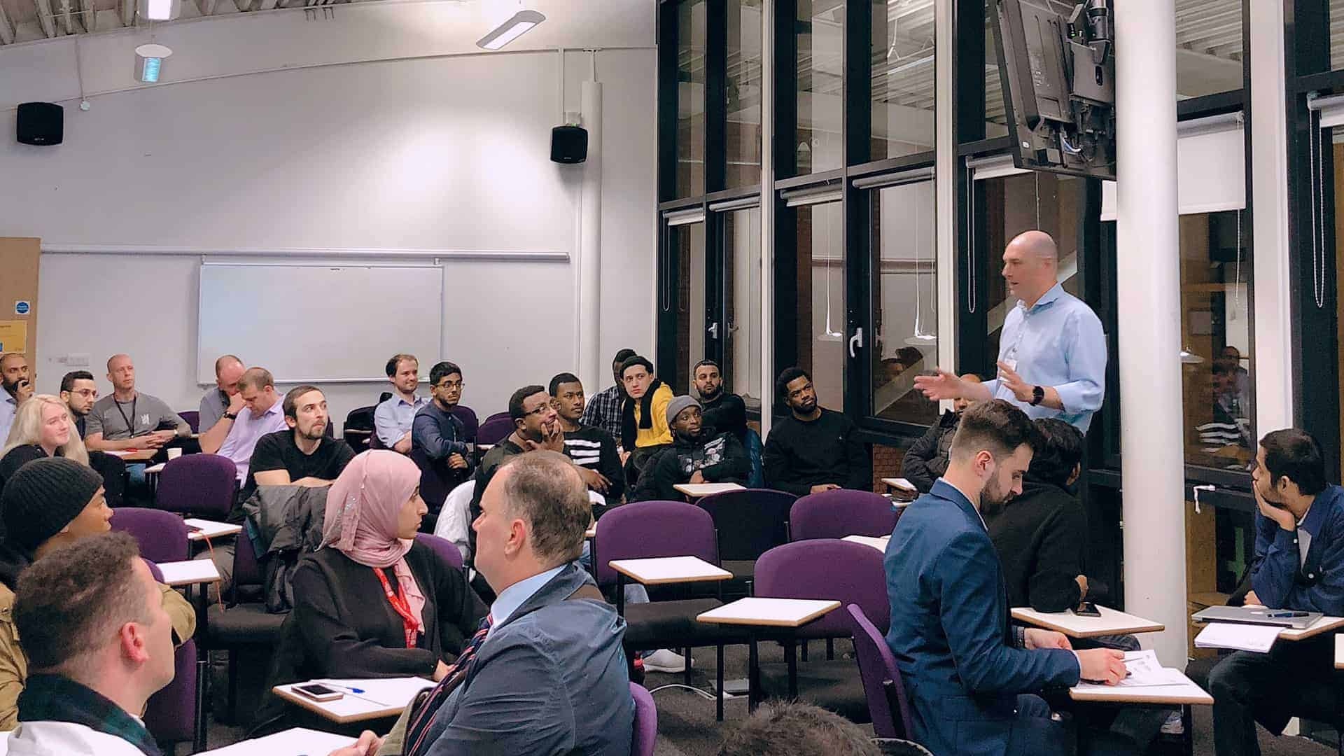 Mnp Stem Stephen Vernon Lsbu Employability Skills WorkshopMNP STEM Stephen Vernon LSBU Employability Skills Workshop, November 2019