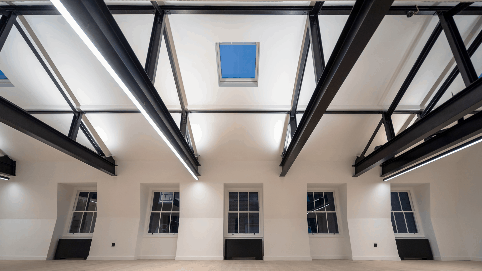 22 Bedford Square Ceiling Beams