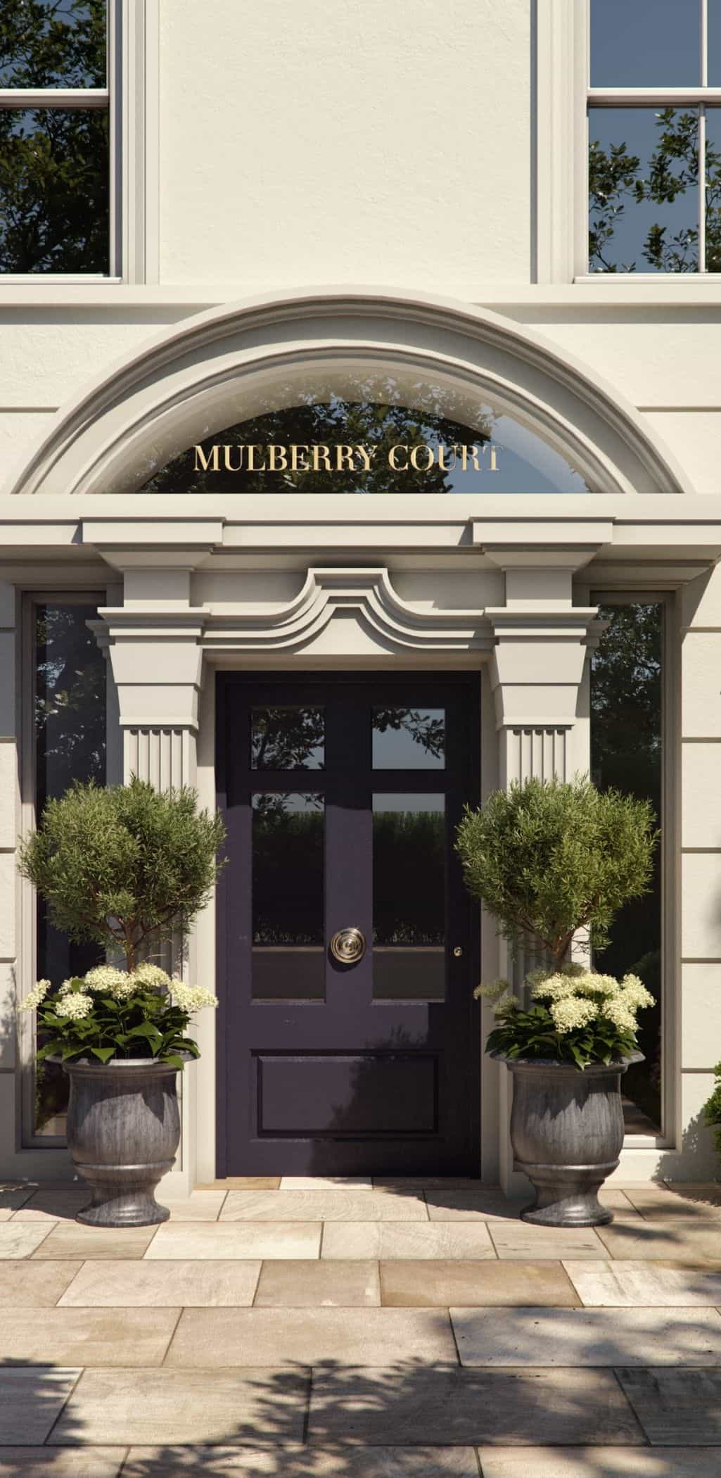 Entrance Mulberry Court MNP