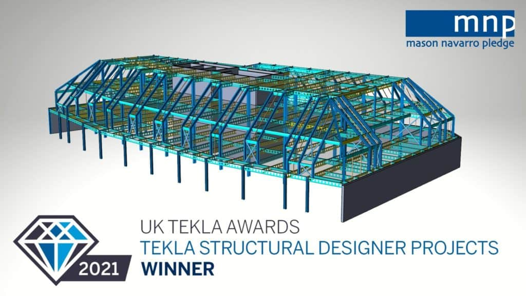 Mnp Tekla Structural Designer Winner Header